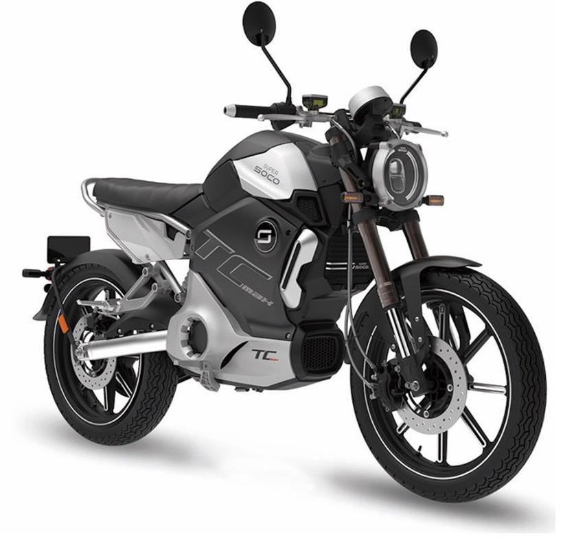 Super Soco TC-Max  (Moto eléctrica 125 - L3e)