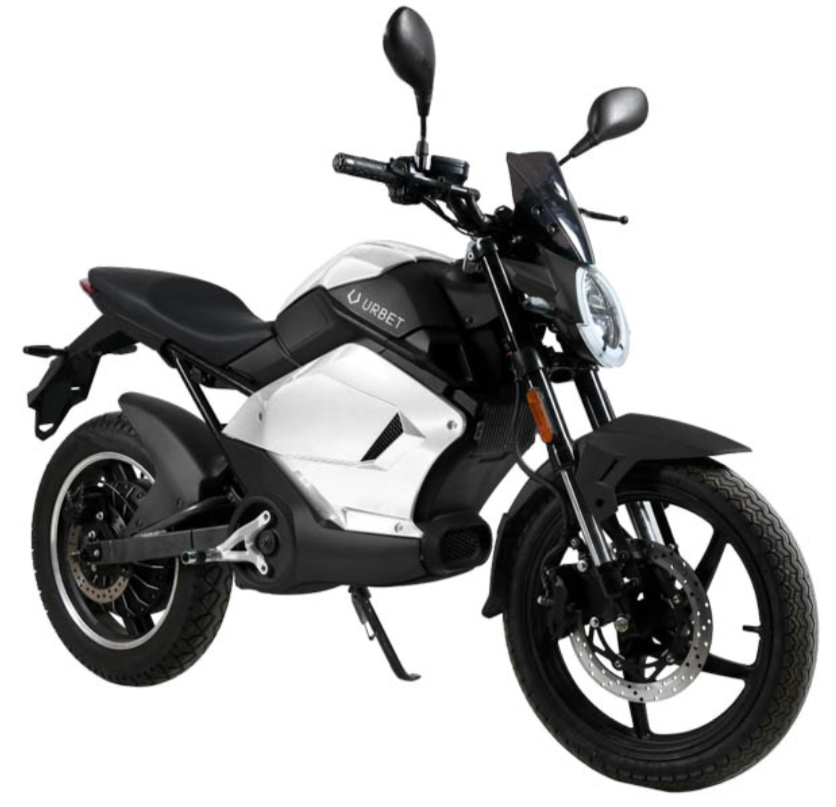 Urbet Gadiro E-125 (Moto eléctrica 125 - L3e)